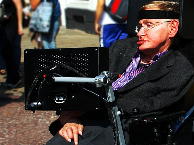 Stephen Hawking /fot.: Wikimedia Commons