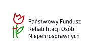 Logo: Państwowy Fundusz Rehabilitacji Osób Niepełnosprawnych