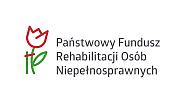 Logo: Państwowy Fundusz Rehabilitacji Osób Niepełnosprawnych